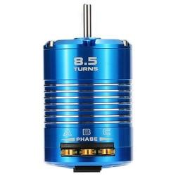 Hot High Efficiency 540 Sensored Brushless Motor for 1/10 RC Car Blue, 8.5T 4100KV