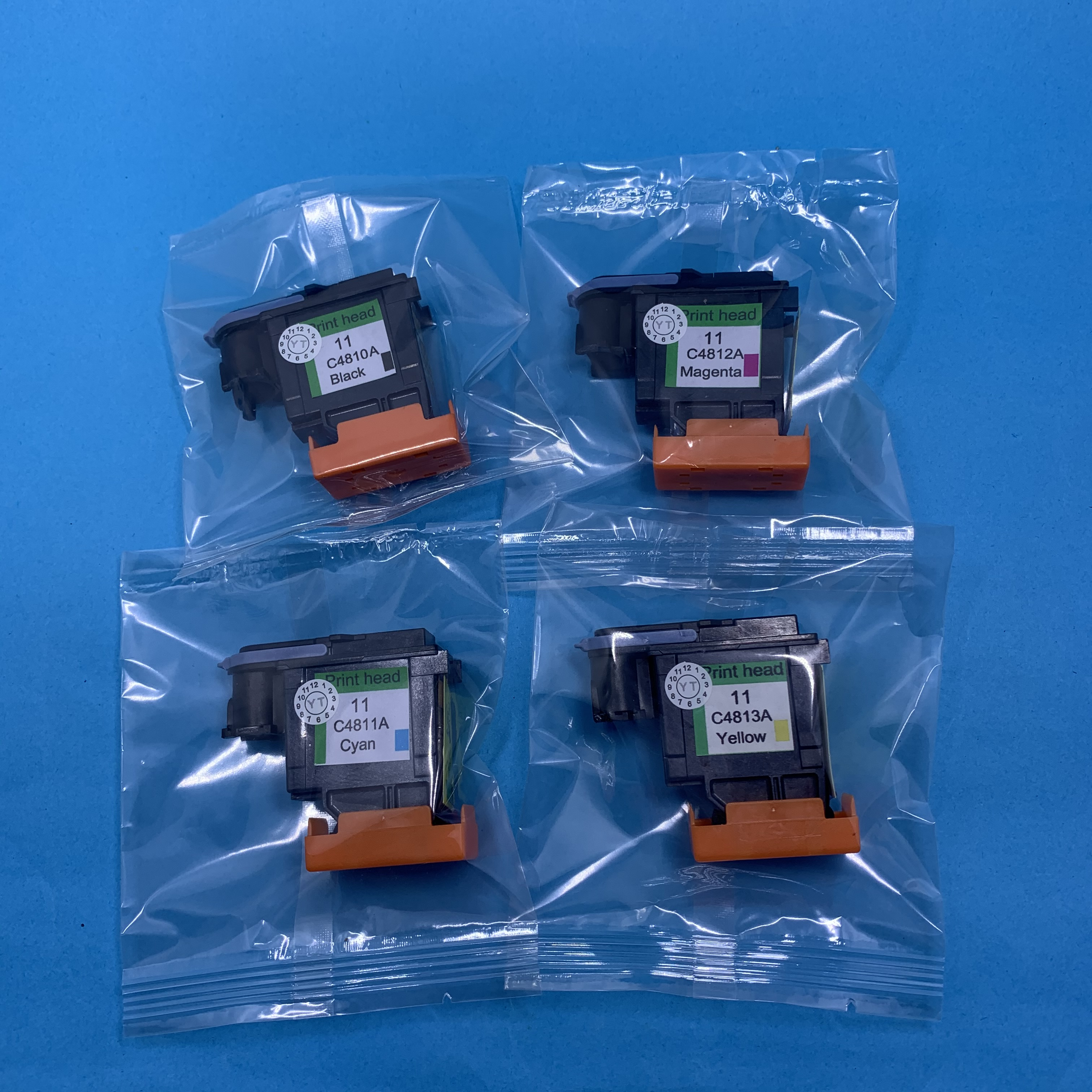 4x cyan printheads compatible for hp11 C4811A 500 800 1000 1100 1200 print head