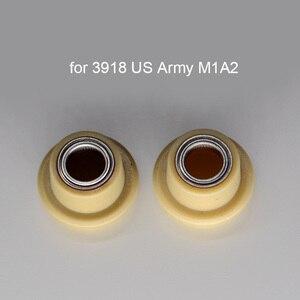 2 шт. подшипник приводного вала запасные части для 1/16 Heng длинная радиоуправляемая модель танка 3938/3918/3908/3899 Tiger 99A T90 2A6