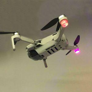Image 3 - 1Set Flash LED Lights Night Flight Searchlight Flashlight Anti Lost Searchlight for DJI Mavic Mini Drone Accessories