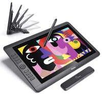 """Parblo coast16 15.6 """"ips tft lcd 1920x1080 tablet gráfico desenho monitor caneta passiva bateria-livre 8192 níveis de pressão"""