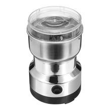 цена на 220V Electric Coffee Grinder Spice Beans Maker with Stainless Steel Blades for Home Kitchen Coffee Grinding with AU UK Plug