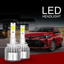 Универсальный c6 автомобилей головной светильник h4 h7 светодиодный
