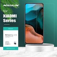 Nillkin para Xiaomi Poco X3 NFC F3 M3 Mi 10 10 10 10T Lite 9 9T Pro 5G Protector de pantalla de vidrio templado para Redmi Nota 10 10 9 8 7 Pro
