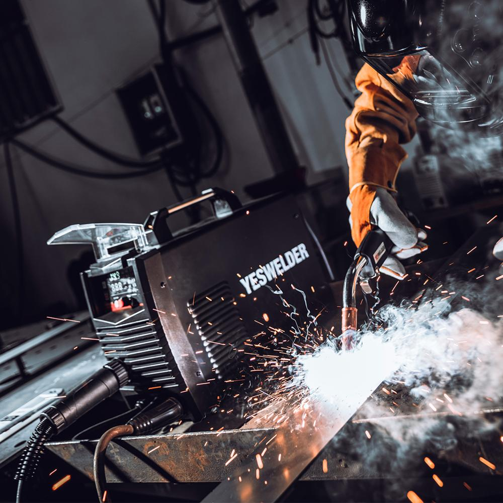 Image 2 - YESWELDER MIG250A No Gas and Gas MIG Welding Machine MIG Welder With Light Weight Single Phase 220V Iron WelderMIG Welders   - AliExpress