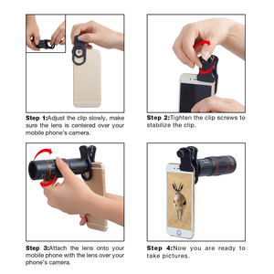 Image 5 - APEXEL 18X Telescope Zoom Mobile Phone Lens for iPhone Samsung Smartphones universal clip monocular Camera Lens