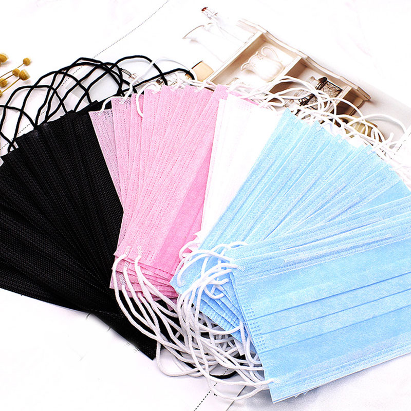10 Pieces/ Pack Professional Disposable Medical Face Mask Anti Carbon Dust Healthy Mouth Mask Mouth Face Mask