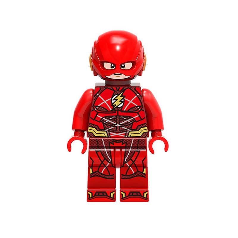 Único Super Herói Figura Assassino Do Aquaman Mera Irmão Luther Superman Mulher Maravilha Olho Conjunto de Blocos de Construção Tijolos Brinquedos JM159