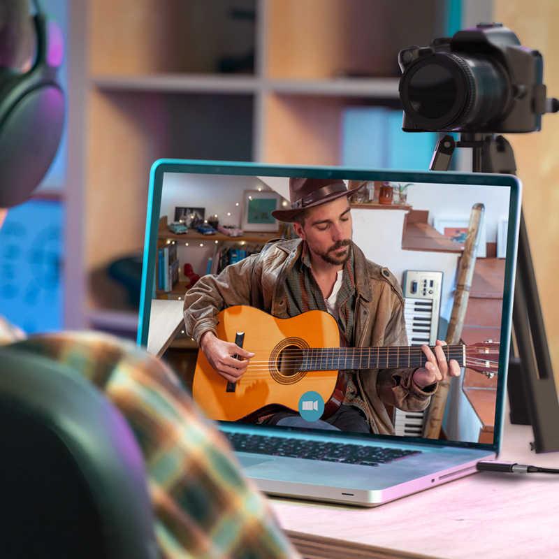 CABLETIME 4K فيديو التقاط HDMI بطاقة التقاط الصوت والفيديو USB 3.0 2.0 60FPS للتبديل كاميرا بث مباشر تسجيل PS4 DVD مسجل C371