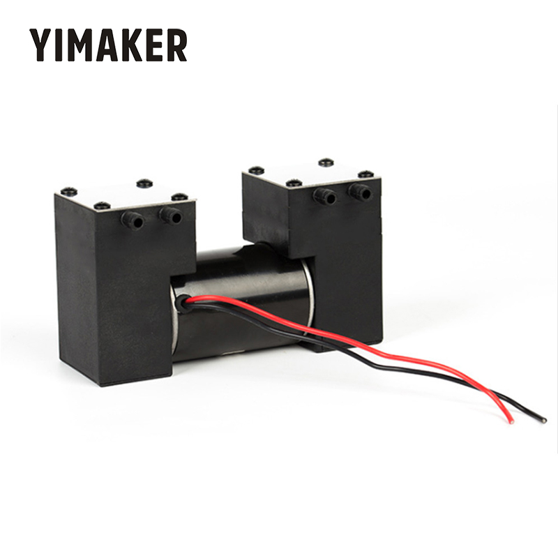 YIMAKER DC 12V  Micro Vacuum Pump High Negative Pressure Silent Electric Suction Pump For Medical beauty Scraping Cupping
