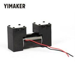 YIMAKER DC 12V Micro Vakuumpumpe Hohe Negative Druck Stille Elektrische Saugpumpe Für Medizinische schönheit Schaben Schröpfen