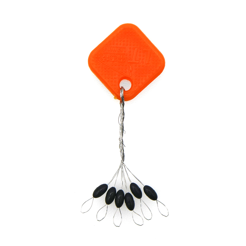 20Group 120pcs//set Tackle Resistance Space Not To Hurt The Line Vertical Beans