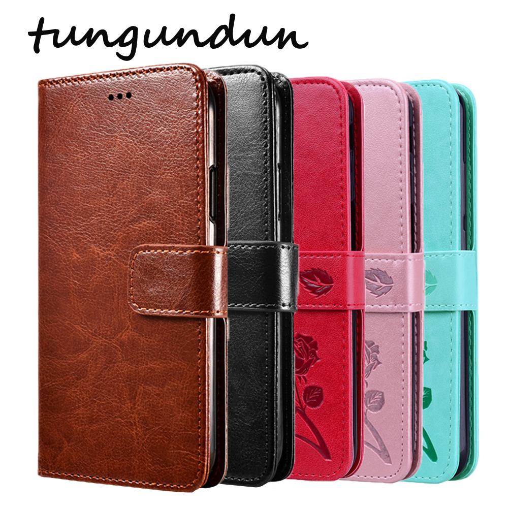 ZTE Blade A3 A5 A7 A7000 2019 Case Protection Stand Style PU Leather Flip Silicone Back Cover For ZTE Blade L8 Phone Wallet Capa