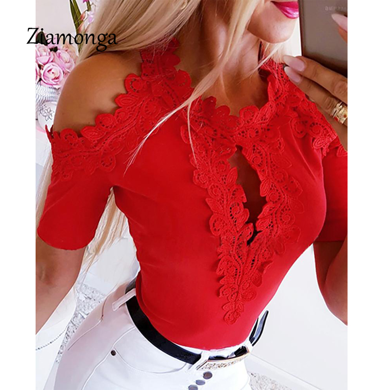 Ziamonga Racy Muslin Bodysuit Women Embroidery Lace For Women Temptation Women's Intimates Sexy Party Romper White Jumpsuit