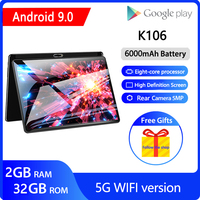 ZONKO 10 inch Tablet Android 9.0 Tablet PC 5G Wifi Octa Core 2G RAM 32G ROM Gaming Tablets GMS 1920*1200 IPS GPS Google Play