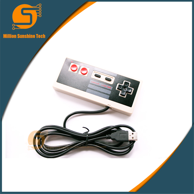 For NES Wired USB Controller Gamepad PC/USB/NES Computer Video Games Handle Retro NES Controller Joystick Controle Accessories