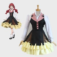New Arrival Bungo Stray Dogs Lucy Maud Montgomery Halloween Party Dress Cosplay Costume Maid Outfit Fancy Dress Custom Made