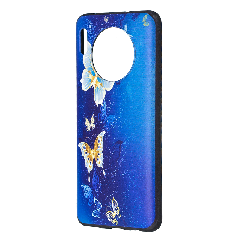 Cover For Huawei Mate 30 Case Small Butterfly Popular Soft Covers Huavei Mate30 Coque Cases Fundas Paras Bumper