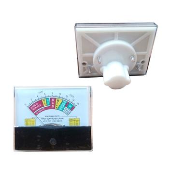 44C2 DC woltomierz Panel analogowy miernik napięcia mechaniczne mierniki napięcia MINI korba woltomierz miernik woltomierz do akumulatora 12V tanie i dobre opinie CN (pochodzenie) plastic