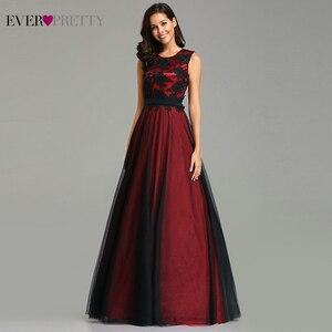 Image 1 - Vestido דה Festa לונגו תמונה אמיתית תחרה אפליקציות ארוך ערב שמלות 2020 זול ערב מסיבת שמלות Robe דה Soiree לונג