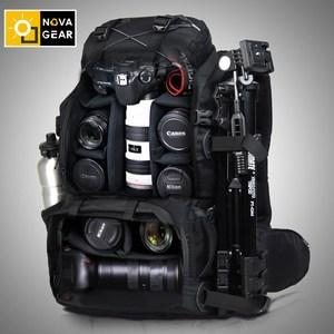 Image 2 - Сумка NOVAGEAR 80302 на два плеча для камеры, водонепроницаемая ударопрочная уличная сумка большой емкости для SLR камеры, подходит для 17 дюймового ноутбука