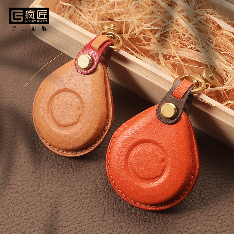 2020 Genuine Leather Smart Car Key Bag Remote Cover Protector Case For Harley Davidson Motorcycle Handmade Father's Day Gift