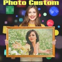 Homfun写真カスタムダイヤモンド塗装5D diyの画像ラインストーンダイヤモンド刺繍3Dクロスステッチ家の結婚式の装飾