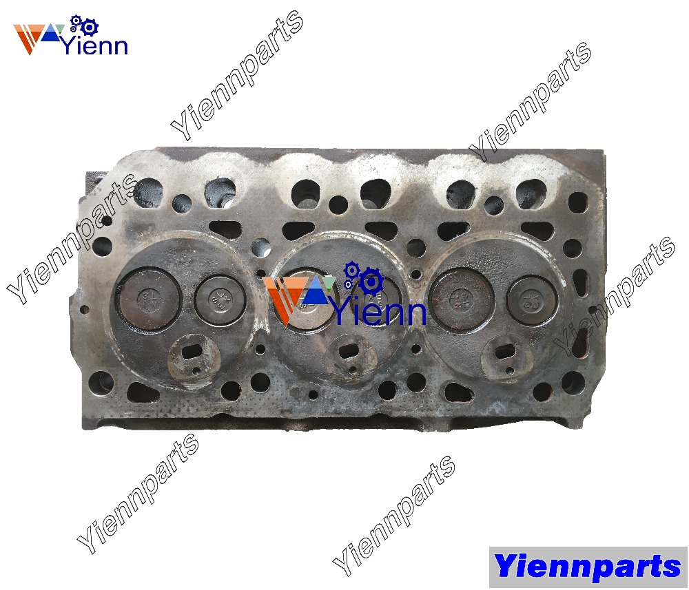 For Mitsubishi S3L S3L2 Cylinder Head 31B01-31021 With Valve Spring For MITSUBISHI S3L2-61CTDG S3L2-Y1 Engine Repair Parts