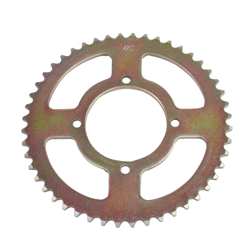 420 48T Tooth 76mm Chain Sprocket For ATV Quad Pit Dirt Bike Buggy Go Kart Motorcycle Motor