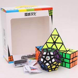 Image 2 - Moyu Cube Kèm 2X2 3X3 4X4 5X5 Tốc Độ Khối Lập Phương Bộ Mofang Jiaoshi khối MF2S MF3S MF4S MF5S Bộ Đồ Chơi Xếp Hình Hộp Quà Tặng