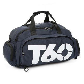 New Sport Gym Bag Men Women Outdoor Waterproof Backpack Separate Space For Shoes Handle Bag 4