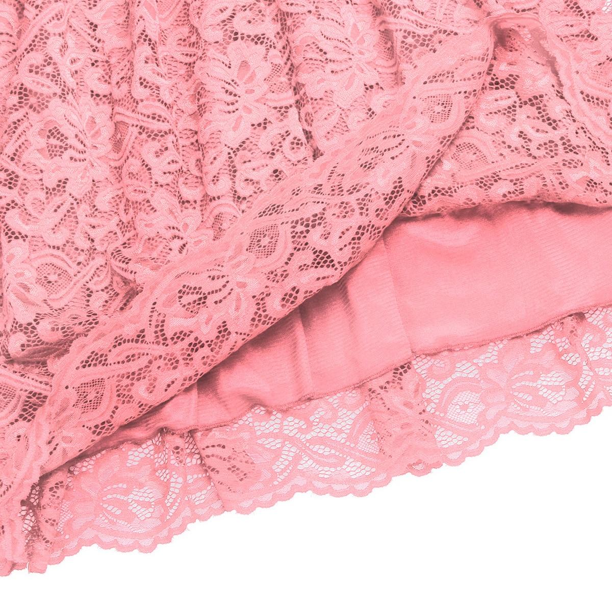 Image 5 - Womens Femme Maternity Elegant Dress Floral Lace Overlay V Neck Half Sleeve Pregnant Photography Dress for Take Part WeedingDresses   -