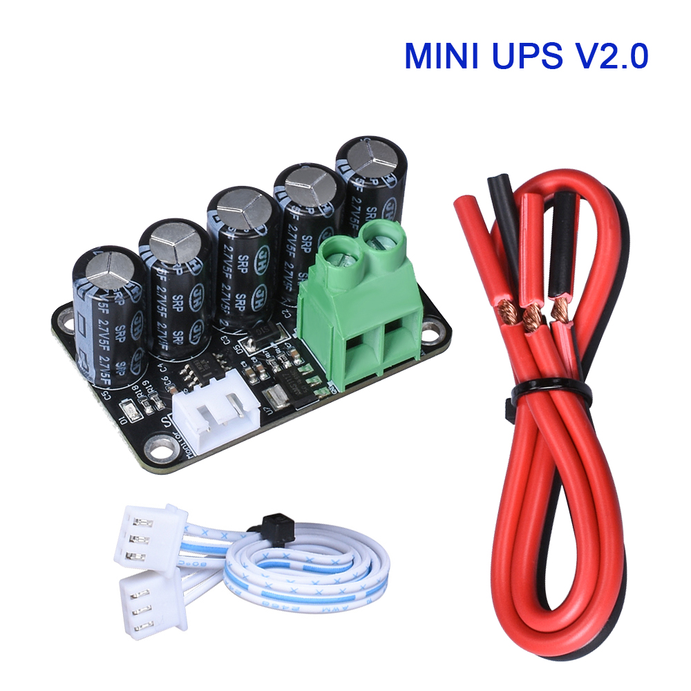 BIGTREETECH MINI UPS V2.0 Power Off Module Automatic Shut Down Sensor with Cables for MKS Control Board 3D Printer Parts