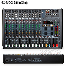 12 Channel Bluetooth Mixing Console Audio Mixer Console with 48V Phantom Power USB Digital Reverb Effect