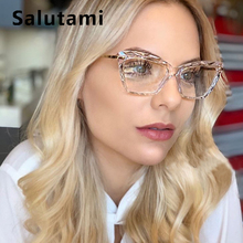 Fashion Square Glasses Frames Women Trending Styles Brand Optical Computer Glass