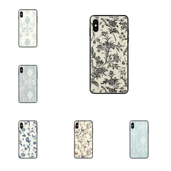 Laura Ashley Josette For Samsung Galaxy A5 A6 A7 A8 A10 A10S A20 A20S A20E A21S A30S A40 A50 A70 A71 A70E Recently Black Soft image