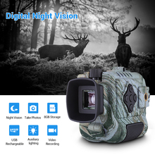 Portable Mini Infrared Night Vision Monocular Digital Scope Telescope Long Range 8GB DVR Camera For Outdoor Sport Hunting