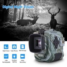 Tragbare Mini Infrarot Nachtsicht Monokulare Digitale Umfang Teleskop Lange Palette 8GB DVR Kamera Für Outdoor Sport Jagd