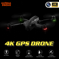 4K Drone GPS FOLLOW ME WIFI FPV Quadcopter with HD Wide Angle Camera Durable Professional RC Drones VS FIMI SG906 E520 F11 PRO