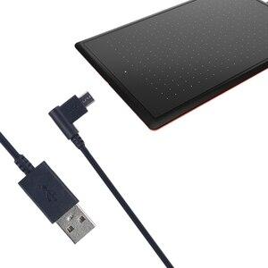Image 2 - USB נתונים סנכרון מטען טעינת אספקת חשמל כבל כבל קו עבור Wacom CTL472 B85B