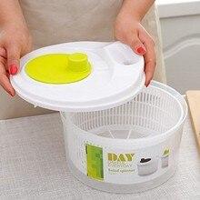 Manual de alface folha vegetal desidratador salada girador filtro dreno h58c