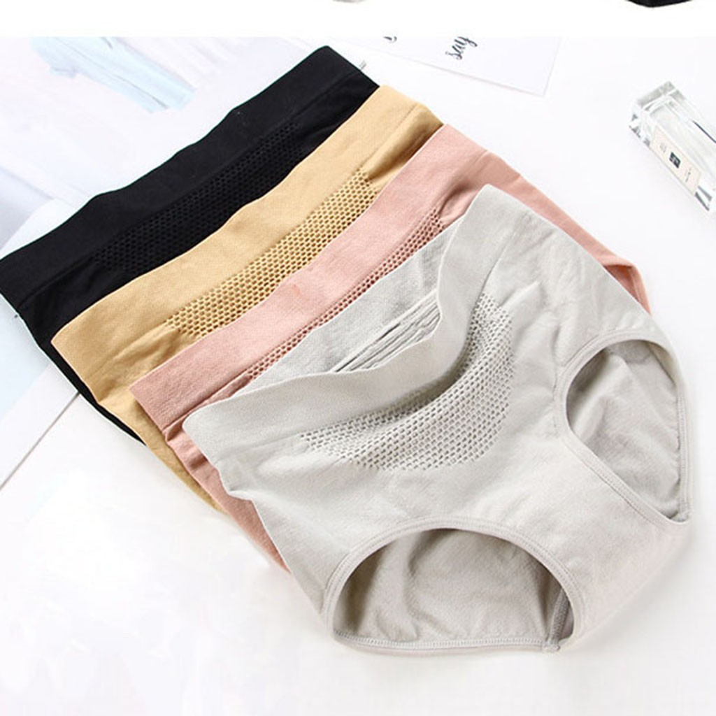 Womens Colorful Fishing Lures Pattern Brief Panty Plus Comfort Bikini Underwear White
