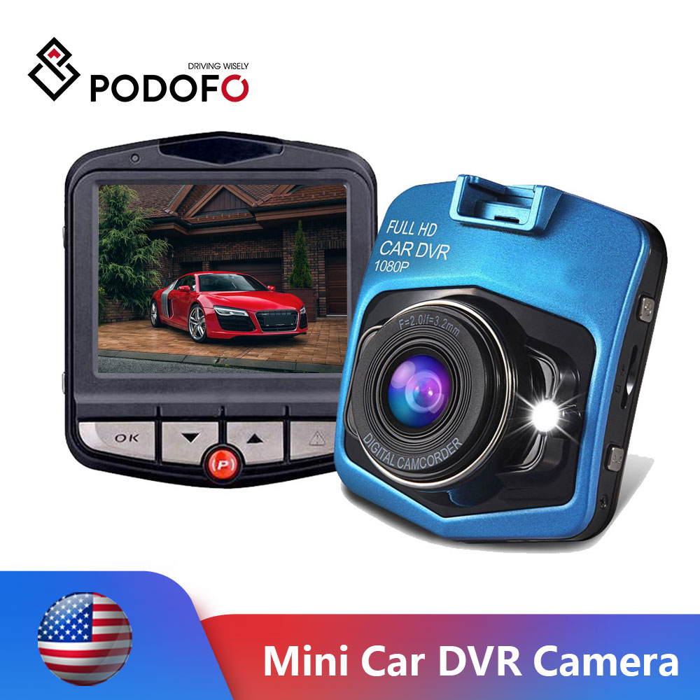 Podofo Mini Car DVR Camera Dash Cam Auto Registrator Digital Video Recorder Parking Recorder Night Vision G sensor Dash Cam DVRs|DVR/Dash Camera| - AliExpress