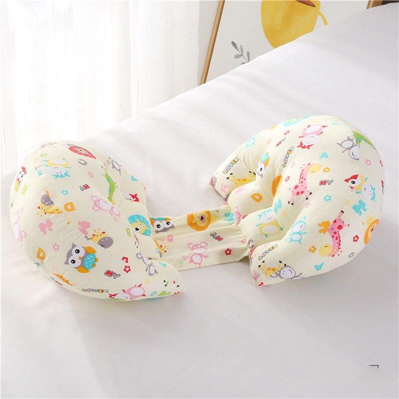 1 шт. ортопедическая поясничная подушка для бокового сна для беременных женщин специальная подушка для сна забота о материнстве Защита позвоночника поясная подушка - Цвет: animal world