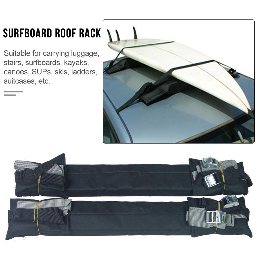 Surfboard Ceiling Storage Rack Car Roof Rack Pads for Surfboard Kayak SUP Snowboard Racks Durable foam padding to protect roof 2