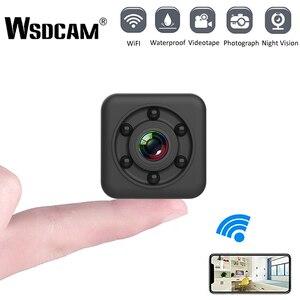 Wsdcam SQ29 IP Camera HD WIFI Small Mini Camera Cam Video Sensor Night Vision Waterproof Shell Camcorder Micro Camera DVR Motion