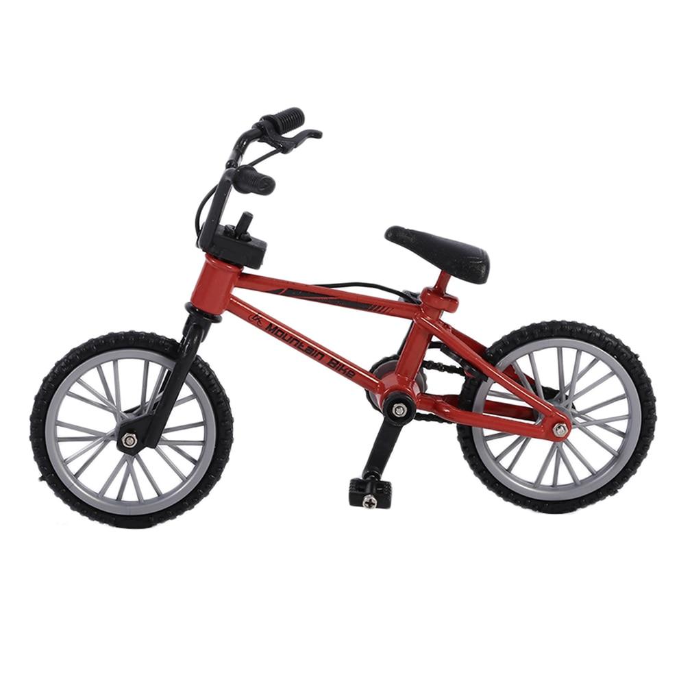 OCDAY Excellent Quality Bmx Toys Fingerboard Alloy Finger BMX Functional Kids Bicycle Finger Bike Mini-finger-bmx Set Bike Fans