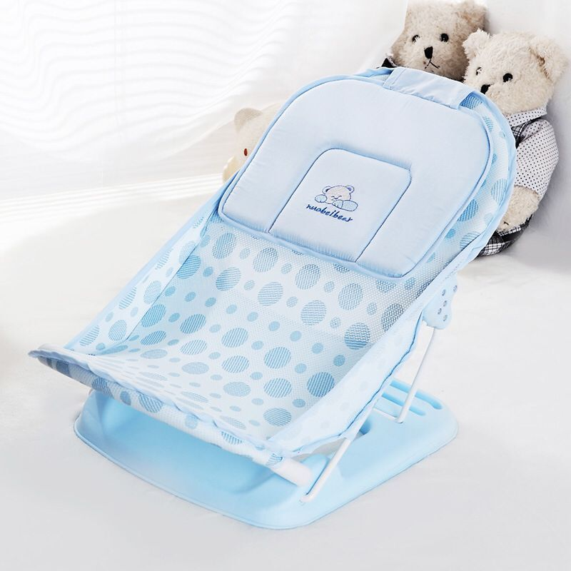 Baby Bath Tub/bed/pad Foldable Portable Baby Bath Chair/shelf Baby Shower Nets Newborn Baby Bath Seat Infant Bathtub Support
