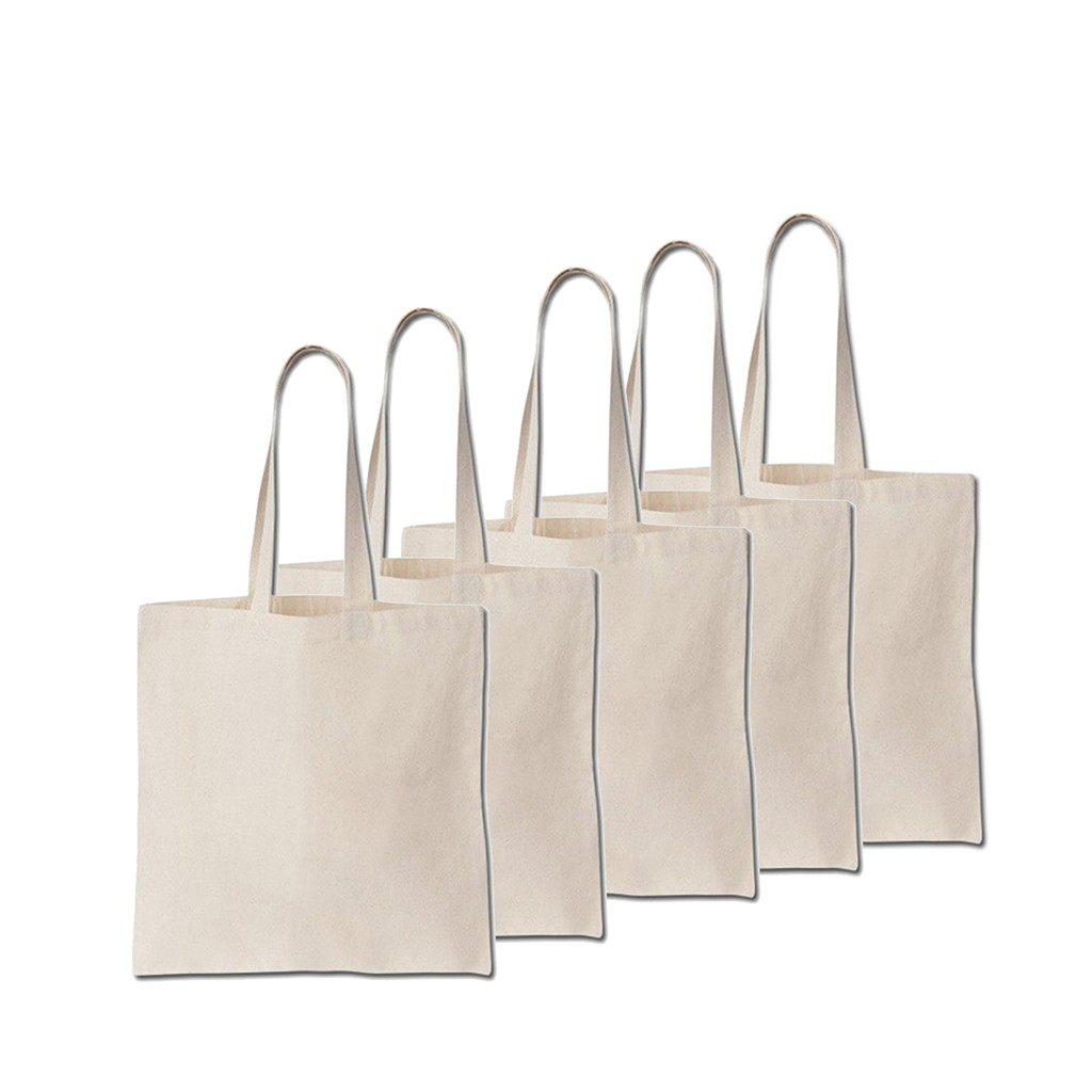 String Shopping Bags made from recycled unbleached cotton,Long Handles
