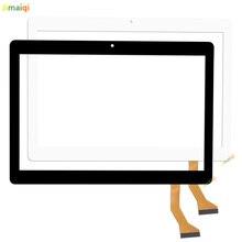 Novo para 10.1 Polegada FPC WYY101028A4 V01 tablet tela de toque capacitivo externo digitador do painel sensor substituição multitouch